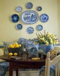 Blue & White Willow Ware