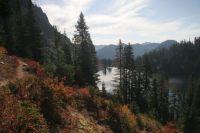 Mountain Trail and Lake