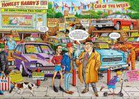 Best of British #18 Used Car Lot by Geoff Tristram