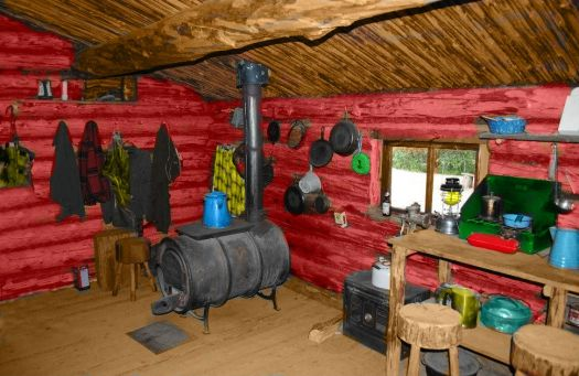 Log Cabin Hide-a-Way