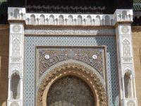 Portion of Ornate Door in Casablanca