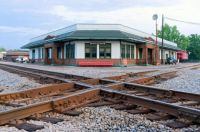 corinth train station now houses a museum