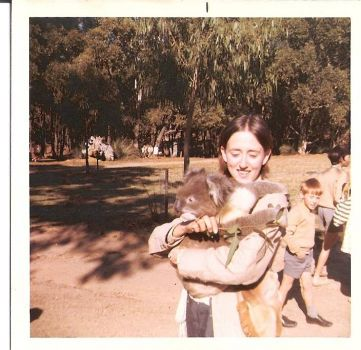 Me and friend, Cleland National Park, Adelaide, S.A.