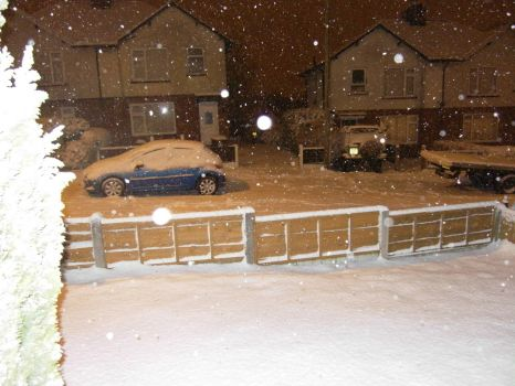 Its Snowing In Lancashire 25/01/13