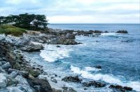 CALIFORNIA'S ROCKY COASTLINE