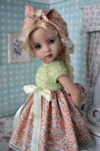 Pretty Doll With Bows