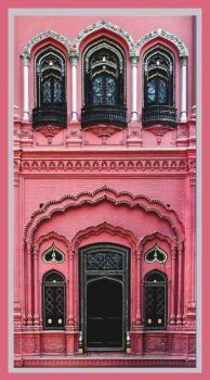 Pink and ornate