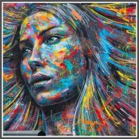 Spray Paint Portrait