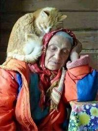 I am nursing my grandmother.