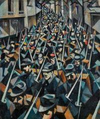 Christopher Richard Wynne Nevinson (British, 1889–1946), A Dawn, 1914 (1916)