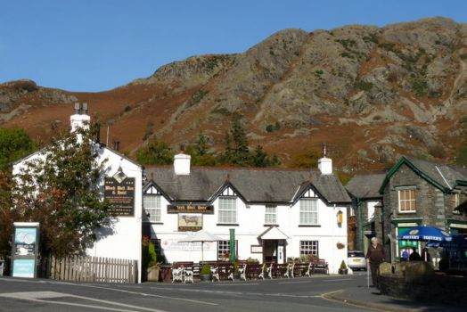 Black Bull Inn, Coniston, Cumbria.  Photo by Peter Trimming
