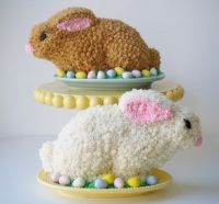 Easter Rabbit Cakes, recipe link included