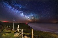 The Milky Way over Compton Bay