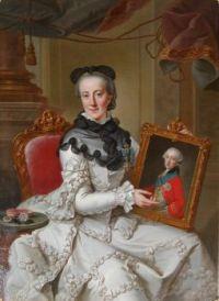 Johann Georg Ziesenis der Jüngere Enkedronning Juliane Marie 1766-1767