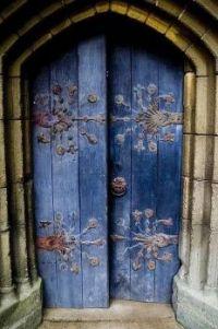 Tynemouth Chapel Door