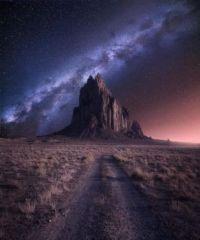 Milky Way in New Mexico
