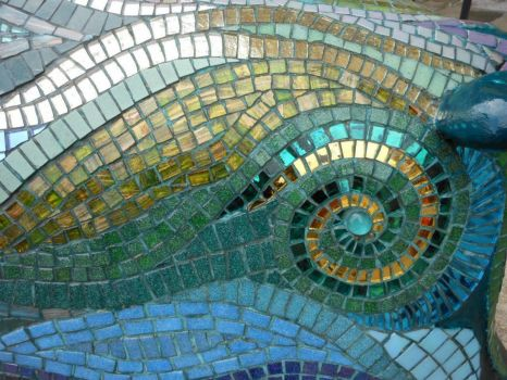 "Detail of mosaic from ""The Pig of Bath""!!"