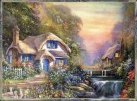 Cute cottage art!