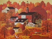 Charles Wysocki-Four Seasons-Autumn