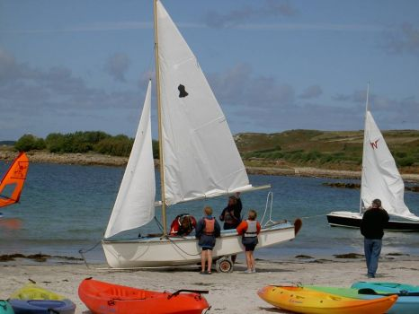 Scilly sailing
