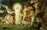 Oberon and Titania - Midsummer Night's Dream-William-Shakespeare-