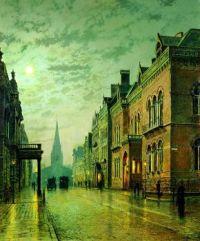 Park Row, Leeds  John Atkinson Grimshaw
