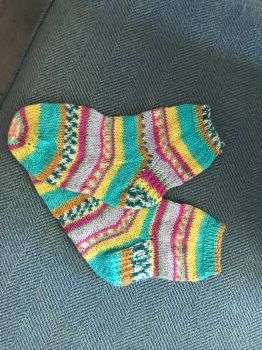 Socks for Aidan