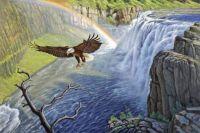 """""""Eagle Mesa Falls"""""""