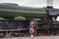 60103 Flying Scotsman and Rab. All dressed up for a night out with the lads!