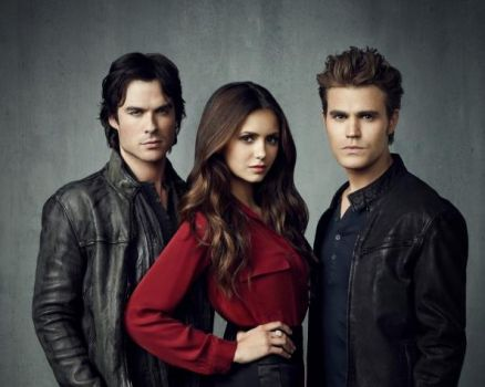 The Vampire Diaries Damon/Elena/Stefan