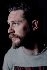 Tom Hardy: grey tones