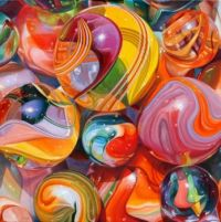 Marbles - Artwork by Pat Bailey