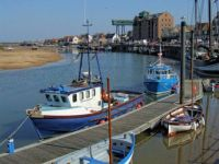 The Harbour, Wells-next-the-Sea - 17th April 2010