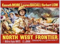NORTH WEST FRONTIER - 1959 POSTER  KENNETH MORE, LAUREN BACALL, HERBERT LOM