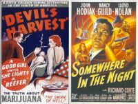 Devil's Harvest ~ 1942 and Somewhere in the Night ~ 1946