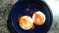 Eggs and Habanero Garlic Sauce