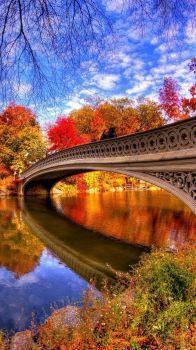 Outono no Parque Central de Manhattan, Nova Iorque, EUA !!