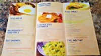 Bay Leaf Restaurant Breakfast Menu
