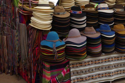 Hats in Pisac