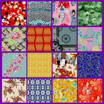 Kimono Collage Challenge