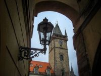 Clock Tower in Prague, CZ