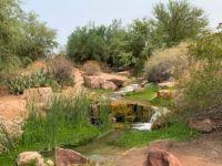Oasis Lake Waterfall