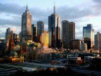 Melbourne Australia Skyline Aerial Photograph by XREBELXDIAMONDSX