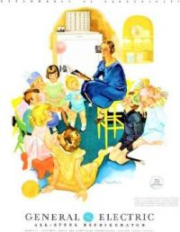 Themes Vintage ads - General Electric Refrigerator