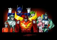 Autobots Year 3 by fantasination