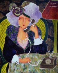 flora - 'The Good Old Telephone!!'
