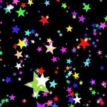 Beautiful colorful star's..