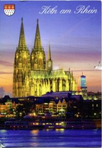 Cologne Cathedral (Old Post Card)