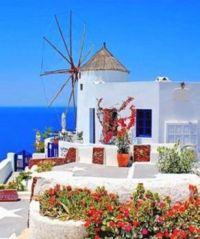 Heaven in Santorini, Greece