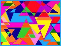 Abstract Triangles 3